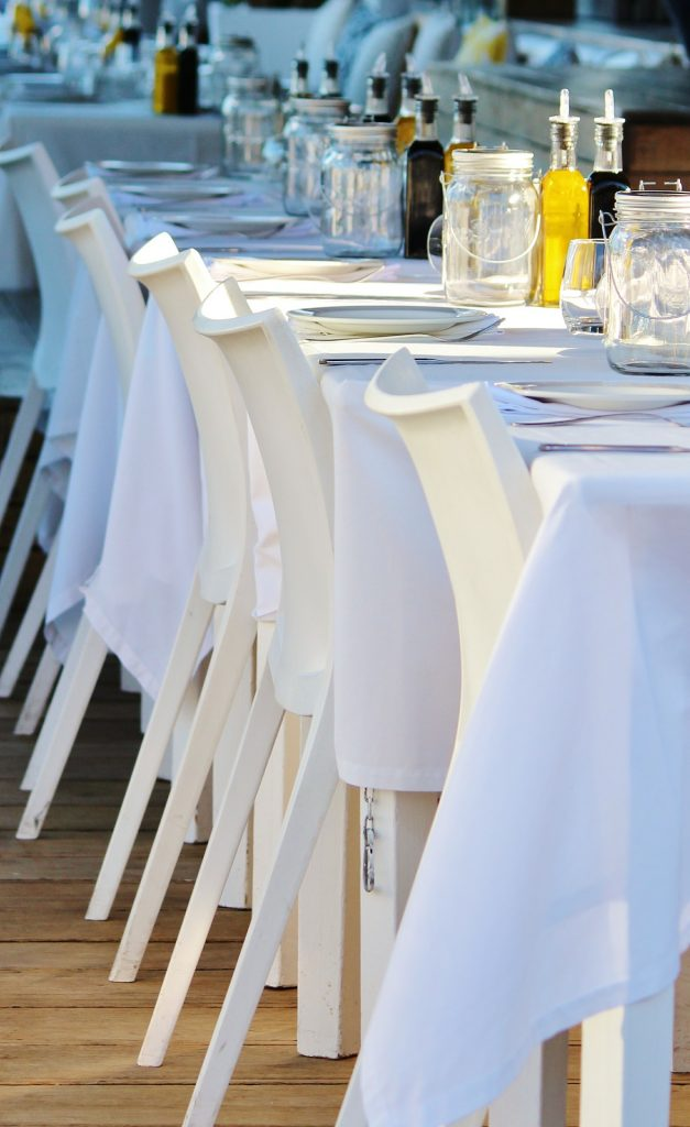 buffet dining table catering melbourne