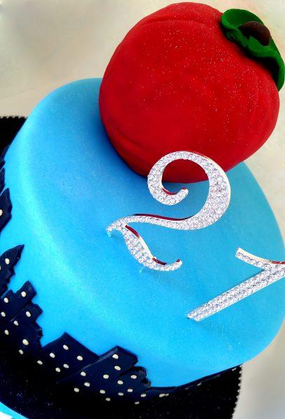 custom 21st birthday cake