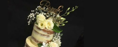 Party Food Melbourne wedding catering cake