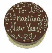 new years eve pinata cake image
