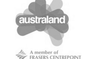 Australand Logo corporate catering client logo image