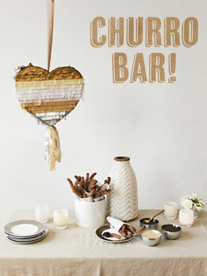 Churros Bar Wedding Dessert Food Station image