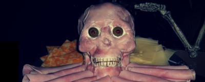 Halloween catering platters