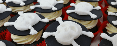 Halloween catering cakes and cupcakes