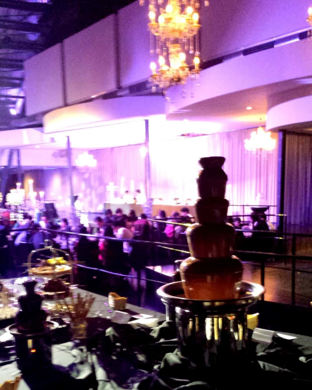 Melbourne Pavilion Wedding Chocolate Fountain Dessert Buffet 8.1