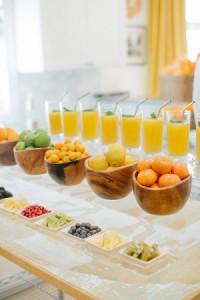 Modern Juice Bar wedding brunch image
