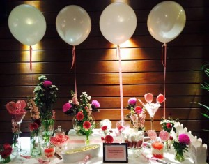 Pink Floral Lolly Candy Buffet Party Food Melbourne