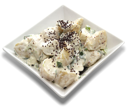 Whole Potato Salad with Seeded Mustard image