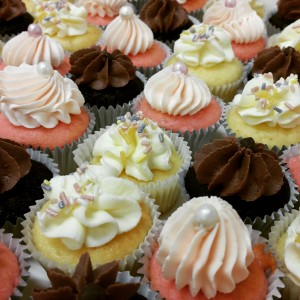 bite size cupcakes spring carnival horse racing event catering high tea