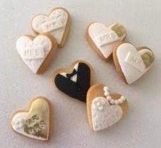custom wedding bomboniere bonbonniere gift biscuits
