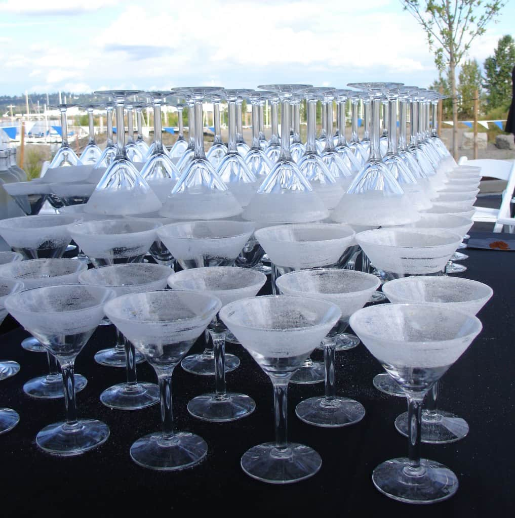 cocktail martini glasses image