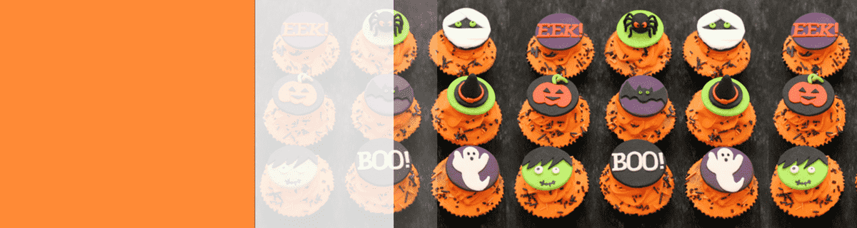halloween catering melbourne logo cupcakes