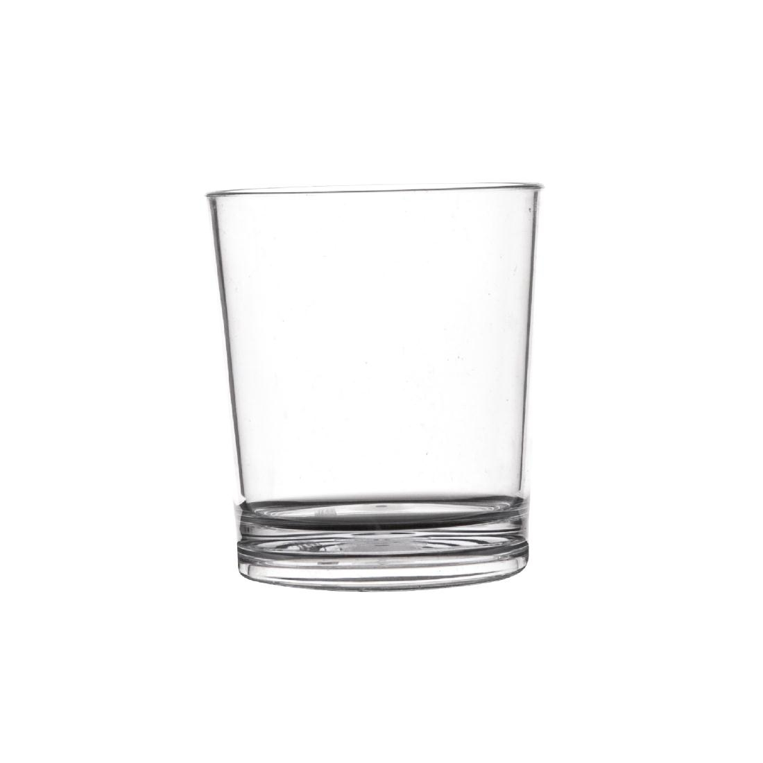 polycarbonate 230ml whiskey glass hire shatterproof