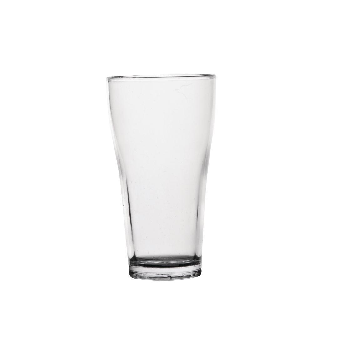 polycarbonate 285ml beer glass shatterproof