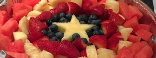 superhero fruit platter party food melbourne