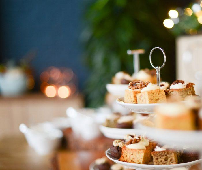 High tea styled Melbourne wedding menus